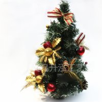 40 cm Pohon Natal mini Christmas Tree gift bonsai ornamen Bagikan : E SJ0012
