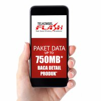 Telkomsel FLASH Paket Data up to 750MB *BACA DETAIL PRODUK*