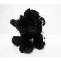 Tas Boneka Mini Anjing Pudel Black Poodle Dog Original Gund Kids
