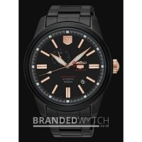 Jam Tangan Seiko 5 SSA317k1 Sports Automatic Black Rose Gold