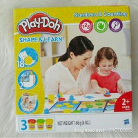 PLAY DOH SHAPE & LEARN NUMBER AND COUNTING