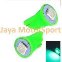 Lampu LED Mobil / Motor / Senja T10 W5W / Wedge Side 1 SMD 5050 - Green