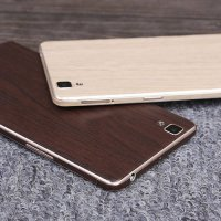 [globalbuy] Luxury Wood Skin Phone Sticker Full Body Decal Wrap Protective for oppo R7s De/5424779