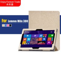 [globalbuy] For Lenovo ideaPad MIIX 300 Miix300 10IYB 10.1 Tablet PC Luxury Silk Pattern P/5195525
