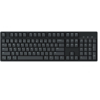 Keyboard Mechanical IKBC-C104 Fullsize RED Switch No LED - Hitam