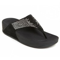 Fitflop Flare Sandals Wanita - Black