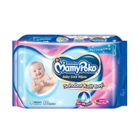 Mamy Poko Baby Wipes Non Parfum/Non Alkohol/Extra Air Murni 80 lbr