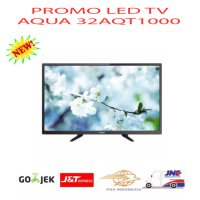 AQUA 32AQT1000 LED TV - Hitam -Promo