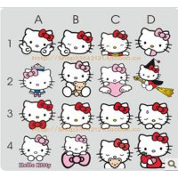 Sticker Mobil Aneka Hello Kitty