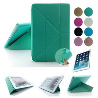 [globalbuy] Quality TPU Smart Case Cover For Apple iPad mini 4 or for ipad air 2 ,Ultra Sl/5501776