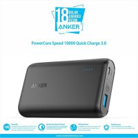 Anker PowerCore Speed Power Bank 10000 mAh Quick Charge 3.0 - Black