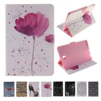 [globalbuy] For Case Samsung Galaxy Tab A 8.0 T355 Fashion Printing PU Leather Stand TPU T/5502177