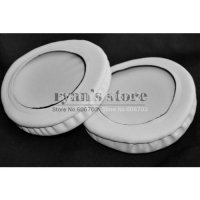 [globalbuy] White Ear pads earpads cushion replacement parts for Pioneer HDJ500 HDJ 500 DJ/2353785