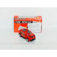 Diecast Fire Rescue Engine - DC Truck Mobil Pemadam Kebakaran (TH617)