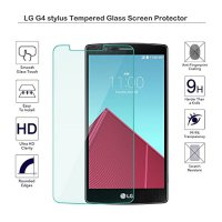 Anti Gores Kaca Tempered Glass LG G4 Stylus Clear Bening High Quality