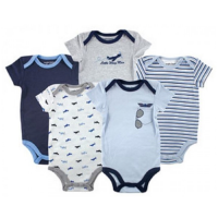 Luvable Friends 5-Pack Bodysuits - Little Wing Man - Jumper