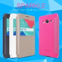Nillkin Sparkle Leather Case for Samsung Galaxy J3 Pro - Original