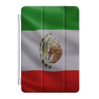 [poledit] Custom Smart Cover (Magnetic) for Apple iPad Air - Red White Green Mexican Flag /5375491