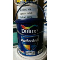 CAT TEMBOK LUAR DULUX WEATHERSHIELD PUTIH 2,5 LTR / BRILLIANT WHITE