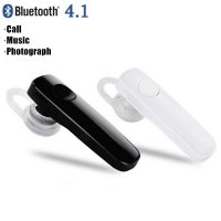 Universal Wireless Bluetooth Headset Handsfree - Black
