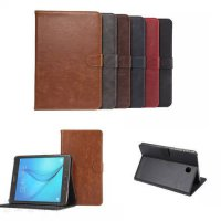 [globalbuy] DS Crazy PU Leather Stand Case with Card Slot for Samsung Galaxy Tab A 8.0 T35/4933100