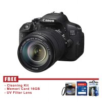 Canon EOS 700D Kit 18-135mm - FREE Accessories