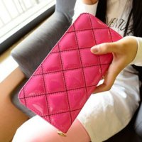 Elegant Puffy Long Wallet / Dompet Panjang Wanita