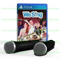 PS4 We Sing 2 - Mic Bundle (R2 / Reg 2 / English Playstation 4 Game)