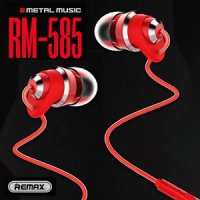 Remax Matel Touching Earphone RM-585