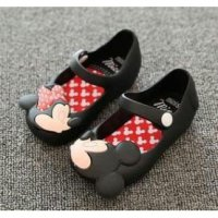 Sepatu Minnie Mouse Jelly Shoes - de275s