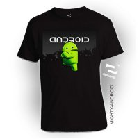 Kaos 3D Mighty Android Dewasa Limited Edition