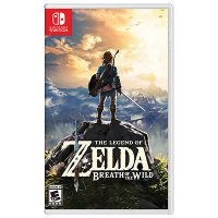 Nintendo Switch Game The Legend of Zelda : Breath of the Wild