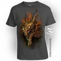 Kaos 3D Robo Dragon Dewasa Limited Edition