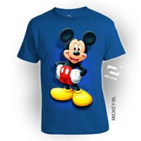Kaos 3D Mickey Mouse Dewasa Limited Edition
