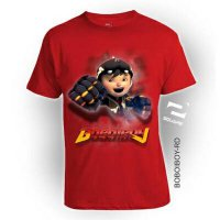 Kaos 3D Boboiboy Kids Limited Edition