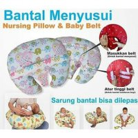 Nursing Pillow + Baby Belt Bantal Menyusui Plus Sabuk