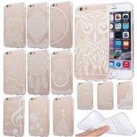 [globalbuy] New Arrival Top Cellphone Cases for iPhone 6 6S 4.7 Super Soft TPU Transparent/3028467