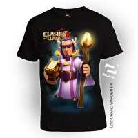 Kaos 3D COC Grand Warden Kids Limited Edition