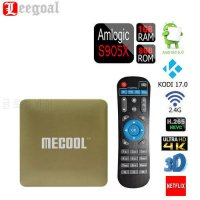 [globalbuy] MECOOL HM8 Smart TV Box 3D 4K Streaming Media Player Android 6.0 Amlogic S905X/4958747