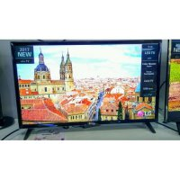 LED TV LG 32 inch 32LJ510D Bezzel Abu Abu Resolution Up Scaler FULL HD, Game