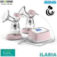 (Promo Gajian) Malish Ilaria Double Electric Breast Pump Pompa ASI Elektrik