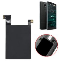 Qi Wireless Charger Charging Pad + Receiver Sticker Support NFC for LG V10