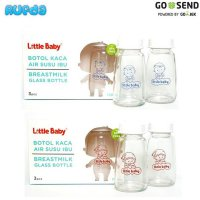 [Promo Gajian] Little Baby Botol ASI Kaca (Glass Breastmilk Bottle)