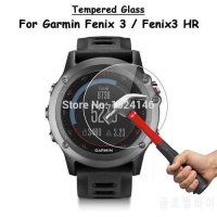 [globalbuy] For Garmin Fenix 3 HR Smart Watch Clear Tempered Glass Screen Protector Ultra /5348201