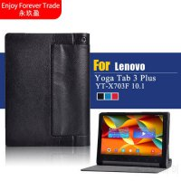 [globalbuy] for Lenovo Yoga Tab 3 Plus 10 YT-X703F Tablet Cover 10.1 inch Solid Stand Flip/5189518