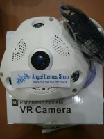 IP CAMERA 3D VR 360 FISHEYE CAM FULL HD 3MP