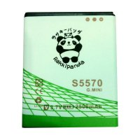 BATERAI BATTERY DOUBLE POWER DOUBLE IC RAKKIPANDA SAMSUNG S5570 GALAXY MINI/ G. STAR S5282 2500mAh