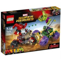 Lego 76078 Marvel Super Heroes - Hulk vs Red Hulk Blocks & Stacking Toys