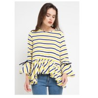[omelsaw029] BLOUSE DOLLY BOW GARIS