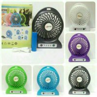 Barangbagus Power Bank Kipas Angin Portable - Mini Fan USB Portable